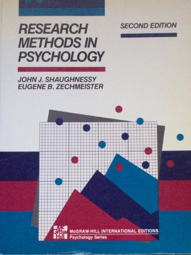 9780071009294: Research Methods in Psychology