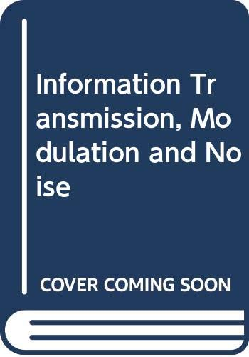 9780071009317: Information Transmission, Modulation and Noise