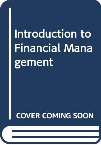 9780071009478: Introduction to Financial Management