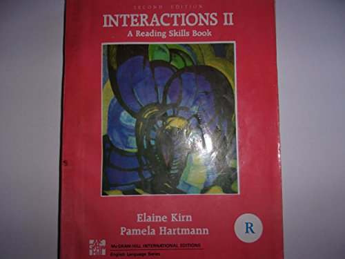 9780071009553: Interactions 2 a Listening Speaking Skills Book