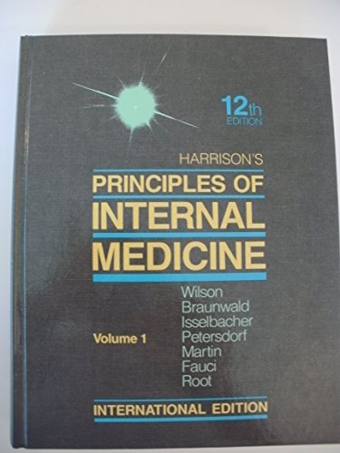 9780071009898: Harrisons Principles of Internal Medicine: Vol 2