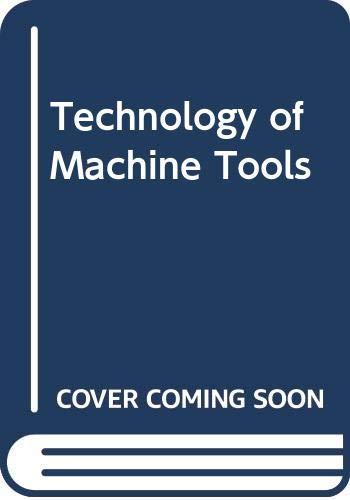 9780071009928: Technology of Machine Tools