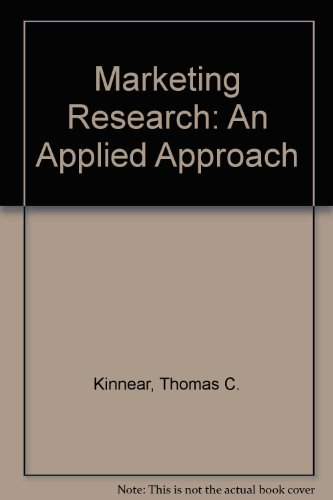 Marketing Research: An Applied Approach: Taylor, James R.,