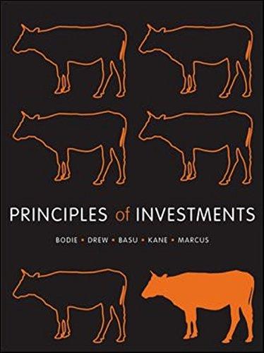 Principles of Investments (Paperback): Zvi Bodie