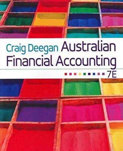 Australian Financial Accounting (Paperback): Craig Deegan