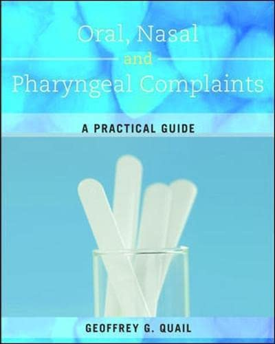 9780071013048: Oral, Nasal and Pharyngeal Complaints: A Practical Guide