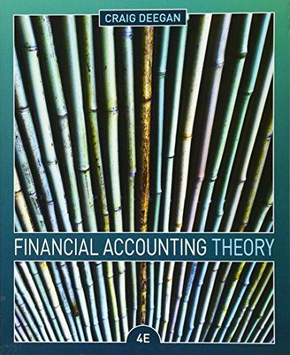 Financial Accounting Theory (Paperback): Craig Deegan
