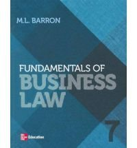 9780071013956: Fundamentals of Business Law