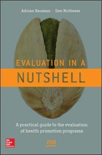 9780071016209: Evaluation in a Nutshell