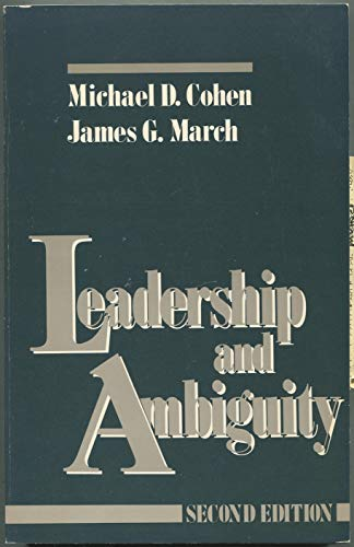 9780071032247: Leadership and Ambiguity