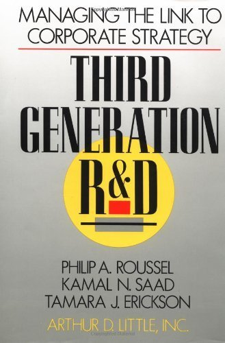 9780071032841: Third Generation R&D: Managing the Link to Corporate Strategy