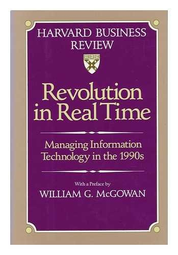 9780071032964: Revolution in Real Time: Managing Information Technology in the 1990s