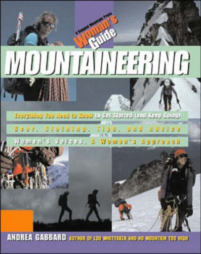 9780071034029: Mountaineering: A Woman's Guide (Ragged Mountain Press Woman's Guides)