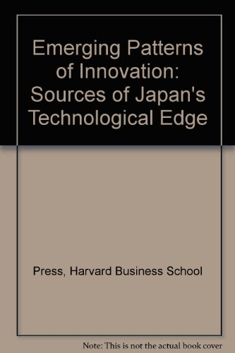 9780071036078: Emerging Patterns of Innovation: Sources of Japan's Technological Edge