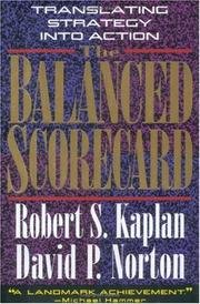 9780071038485: The Balanced Scorecard: Translating Strategy into Action