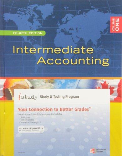 9780071047470: Intermediate Accounting, Vol. 1, 4th Edition w/ iStudy Access Card