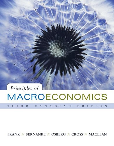 9780071048996: Principles of Macroeconomics, 3rd Cdn edition with Connect Access Card