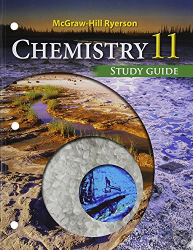 9780071050951: Chemistry 11 Study Guide Mcgraw-hill Ryerson
