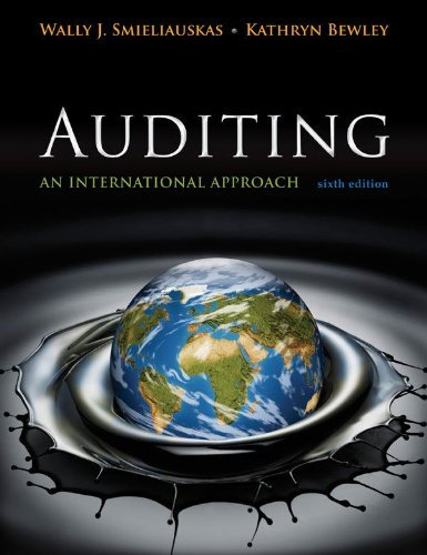 9780071051415: Auditing: An International Approach?Sixth Edition