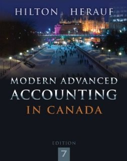 9780071051521: Modern Advanced Accounting in Canada