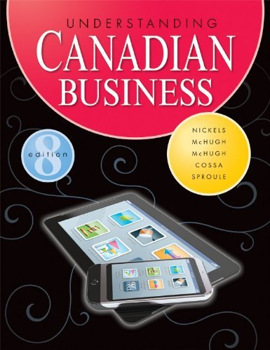Understanding Canadian Business: Brooke C.W. Barker