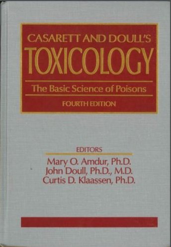 9780071052399: Casarett and Doull's Toxicology: The Basic Science of Poisons