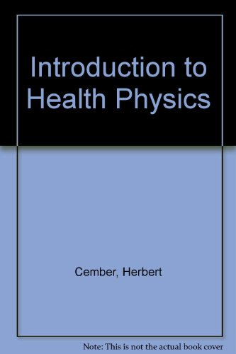 9780071052566: Introduction to Health Physics