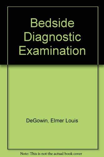 9780071052603: Bedside Diagnostic Examination