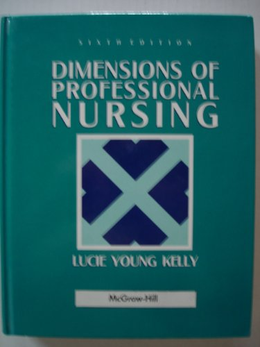 9780071052917: Dimensions of Professional Nursing