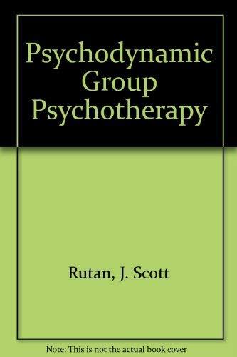 9780071053525: Psychodynamic Group Psychotherapy