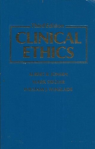 9780071053921: Clinical Ethics: A Practical Approach to Ethical Decisions in Clinical Medicine