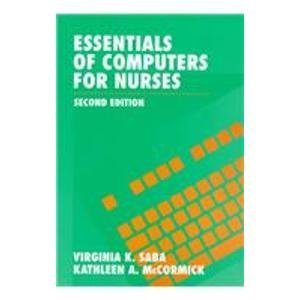9780071054188: Essentials of Computers for Nurses