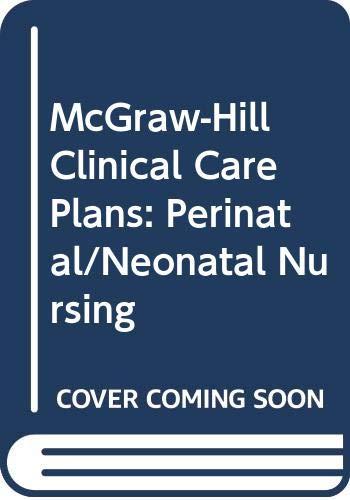9780071054638: Perinatal/Neonatal Nursing