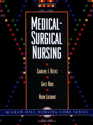 9780071054805: Medical-Surgical Nursing