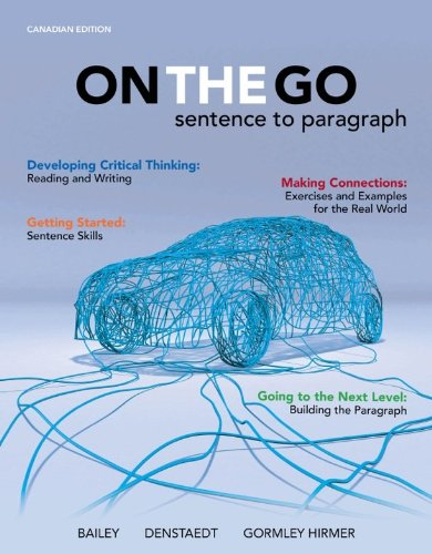 9780071055925: On the Go : Sentence to Paragraph