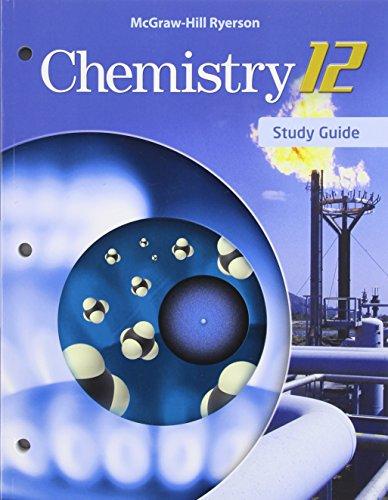 9780071060448: Chemistry 12u Student Edition Mcgraw-hill Ryerson