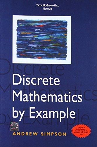 9780071067140: Discrete Mathematics By Example