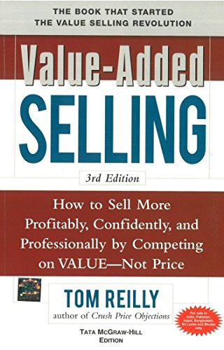 9780071067171: VALUE-ADDED SELLING 3E