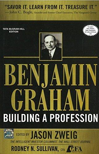 9780071067263: Benjamin Graham Building a Profession