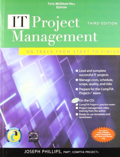 9780071067270: IT Project Management: On Track from Start to Finish, Third Edition