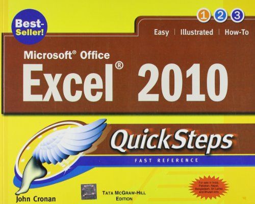 9780071067362: Microsoft Office Excel 2010 QuickSteps