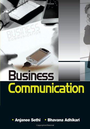 9780071067669: Business Communication: 1E