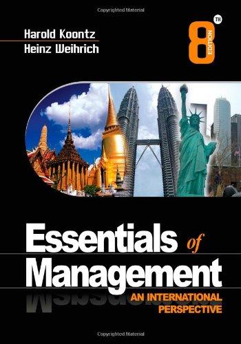 9780071067676: Essentials of Management, 8e: An International Perspective