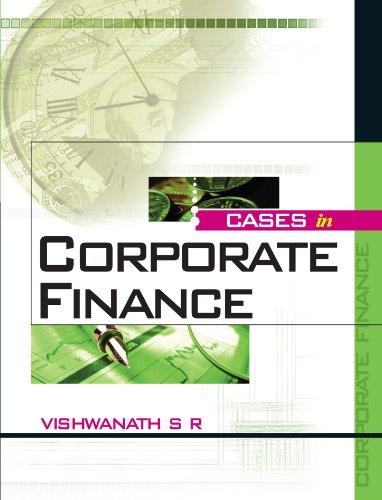 9780071067690: Cases in Corporate Finance: 1e