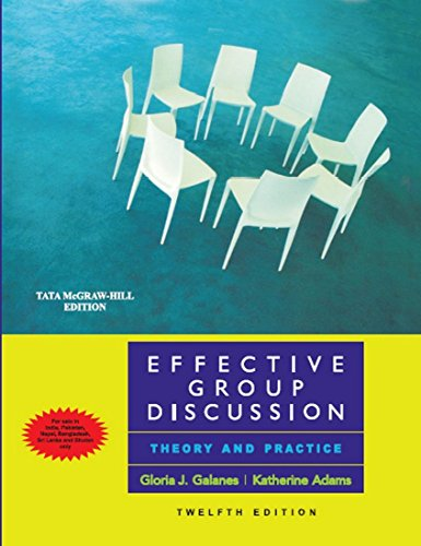 9780071070249: Effective Group Discussion Theory And Practice