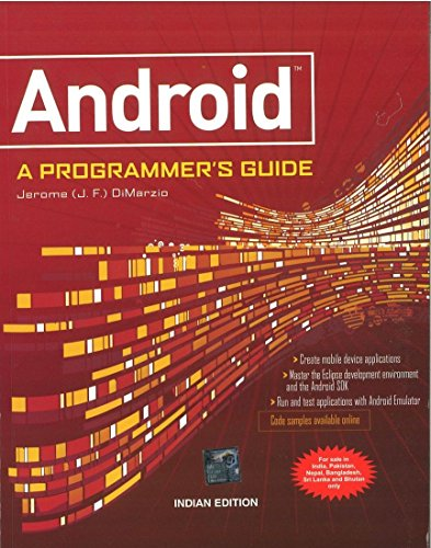 9780071070591: Android A Programmers Guide
