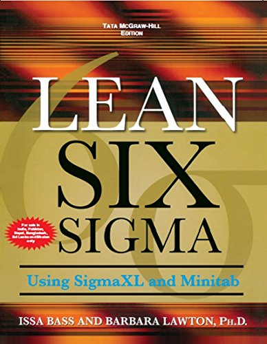 9780071070768: Lean Six Sigma Using SigmaXL and Minitab