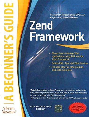 9780071071390: ZEND FRAMEWORK, A BEGINNER'S GUIDE