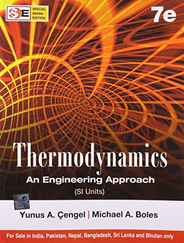 9780071072540: Thermodynamics An Engineering Approach(SI Units)
