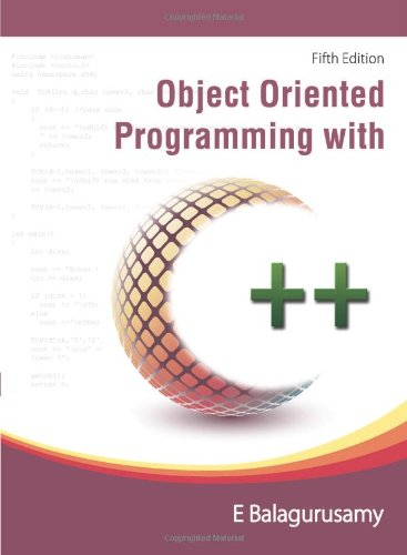 9780071072830: Object Orinted Programming With C++